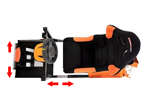 Adjustable - Racing simulator