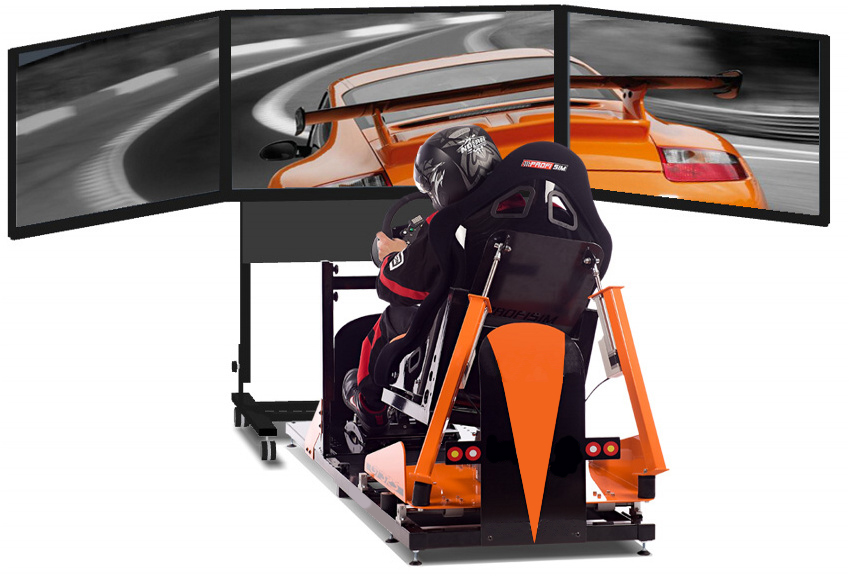 3 TV - Racing simulator